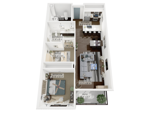 Floor Plans La Collina Little Italy University Circle Apartments In Cleveland Oh 44106